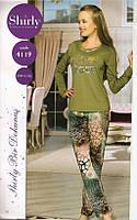 Трикотажная женская пижама-Турция