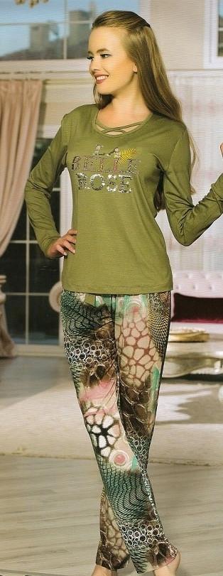 Трикотажна жіноча піжама-Туреччина купити в інтернет магазині