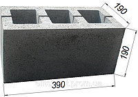 Строительные вибропрессованые стеновые бетонные блоки Житомир, Киев