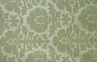 Натуральная портьерная ткань для стильного современного интерьера Medeo Sulfuro оливковая