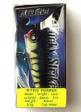 Воблер для спиннинговой рыбалки Condor Ritmo Popper, 65мм, 6.5г, цвет 312, фото 2