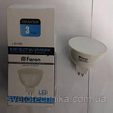 Светодиодная лампа Feron LB96 G5.3 (MR16) 7W6400К