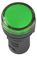 Лампа AD-22DS LED-матрица d22мм зеленый 230B ИЭК