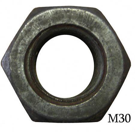 Гайка высокопрочная М30 ГОСТ 22354-77
