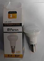 Светодиодная лампа Feron LB439 E14 5W  2700К (белый тёплый)