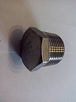 Заглушка 1/2 с наружной резьбой из нержавеющей стали