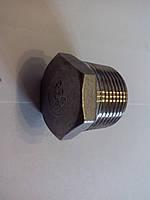 Заглушка 1 с наружной резьбой из нержавеющей стали