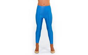 Лосины гимнастические Бифлекс голубые CO-1962-BL, фото 2