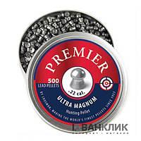 Свинцовые пульки Crosman Premier 5.5 мм 500 шт. LDP22
