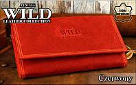 Вместительный КОЖАНЫЙ кошелек для женщин от Always Wild!