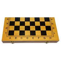 Шахматы, шашки, нарды 40 см (Набор 3-в-1)