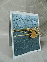 Новогодняя открытка ручной работы, фото 1