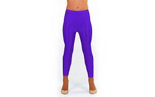 Лосины гимнастические детские Бифлекс фиолетовые CO-2017-V, фото 2