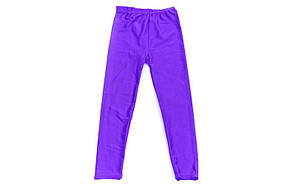 Лосины гимнастические детские Бифлекс фиолетовые CO-2017-V, фото 3