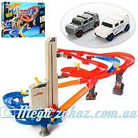 Трек гоночный Hot Speed 002 с 2 машинками и лифтом