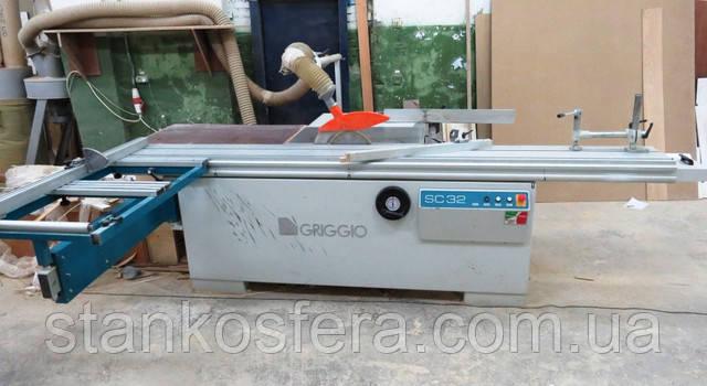 Форматный станок Griggio sc32 бу