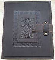 Альбом для банкнот и монет Krause XL - натуральная кожа, фото 1