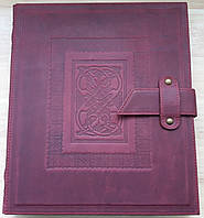Альбом для марок Krause - натуральная кожа, фото 1
