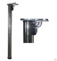 Нога для откидного стола 50/710 хром, регулируемая