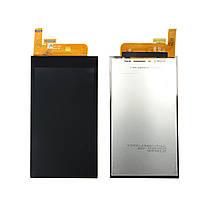 Дисплей (экран) для HTC Desire 510 + с сенсором (тачскрином) черный