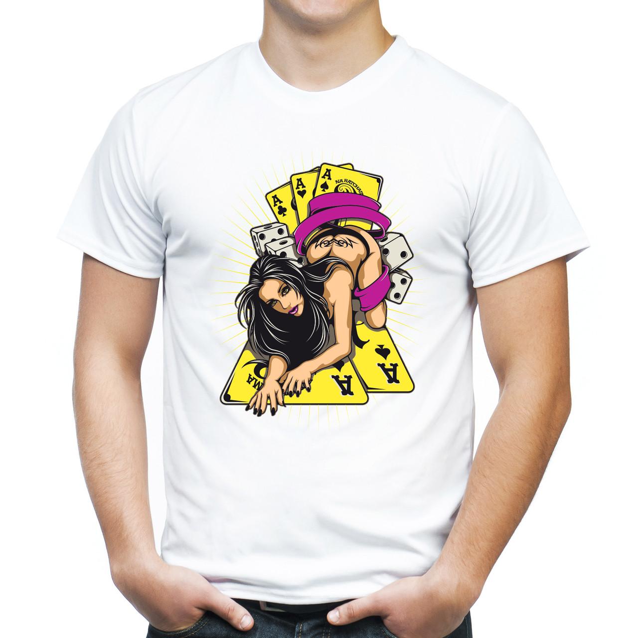 """Мужская футболка """"Game queen"""""""