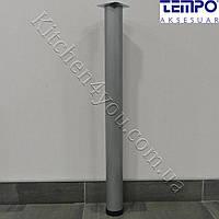 Круглая опора для стола Tempo 11.180.24 высота 710 мм. покрытие матовый хром