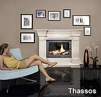Портал для камина (облицовка) Афины из натурального мрамора Thassos