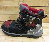Детские зимние термо ботинки В&G на шерсти размер 26