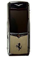 Мобильный телефон VERTU Ferrari F510 - китайская копия    . f