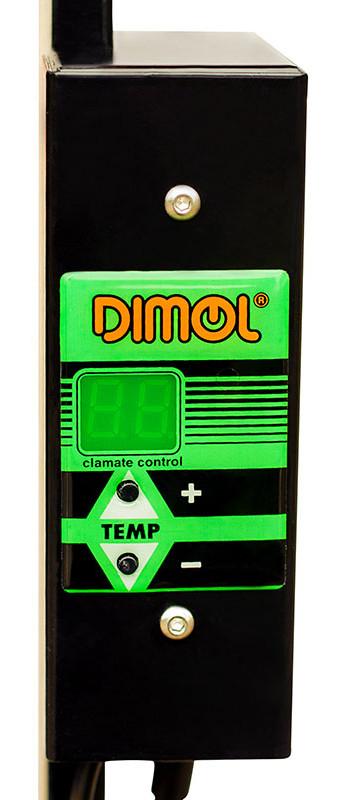 внутренний терморегулятор в обогревателе dimol maxi 05 графитовый