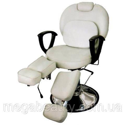 Педикюрное кресло ZD-346 белый цвет