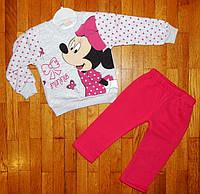 Теплые костюмы для девочки Микки 2 года, фото 1