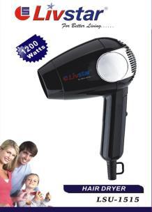 Фен для волос Livstar 1200 Вт Австрия