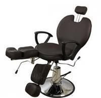 Педикюрное кресло ZD-346 цвет шоколад
