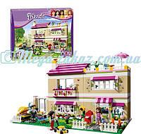"Конструктор Bela Friends ""В гостях у Оливии"": 695 деталей, 3 фигурки (аналог Lego Friend)"