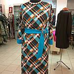 Платье женское  теплое трикотажное пл 066, фото 5
