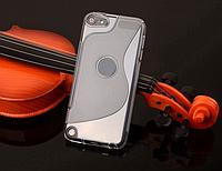 Чехол бампер TPU для Apple iPod Touch 5 - Clear