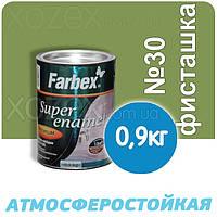 Фарбекс Farbex Краска-Эмаль ПФ-115 Фисташка №30 0,9кг