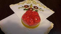 """Мыло ручной работы """"Кекс с цветком"""""""