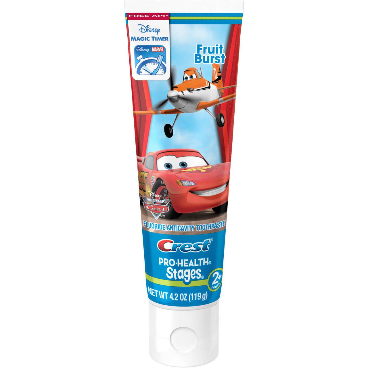"""Crest Kid's Pro-Health Stages Cars - Детская зубная паста """"Тачки"""", 119 г"""
