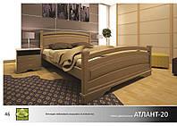 Кровать деревянная Атлант -20