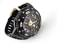 Часы  Q@Q  Attractive 10Bar противоударные, золотой циферблат, можно плавать, дизайн