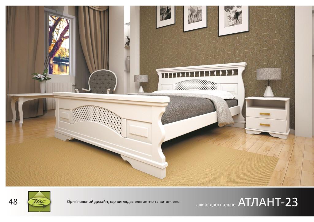 Кровать деревянная Атлант -23