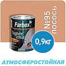 Фарбекс Farbex Фарба Емаль ПФ-115 Лососева №95 2,8 кг, фото 2