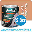 Фарбекс Farbex Фарба Емаль ПФ-115 Лососева №95 25кг, фото 3
