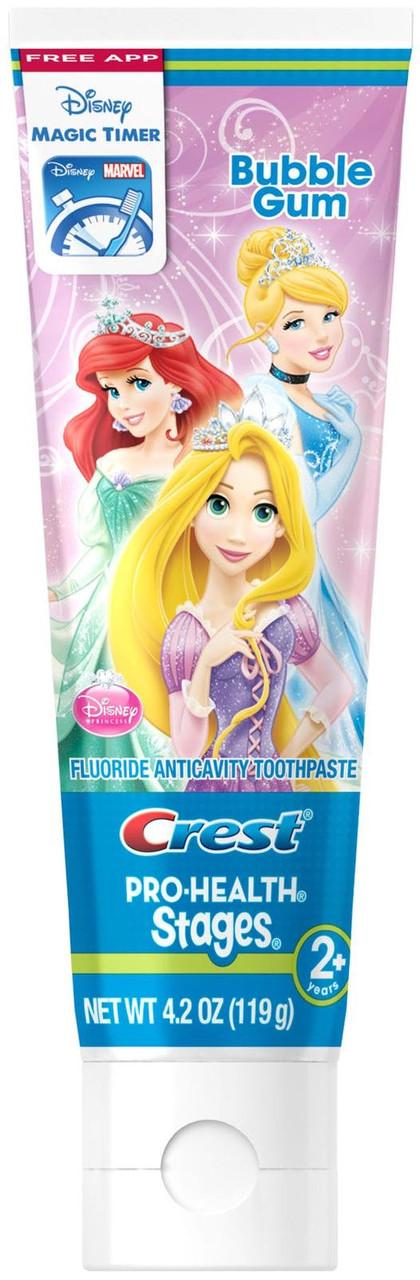 "Crest Kid's Pro-Health Stages Disney Princess - Детская зубная паста ""Принцесы"", 119 г"