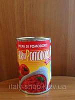 Помидоры кусочками или целые в собственном соку, в картоне, 500гр Италия
