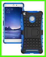 Противоударный бампер для Xiaomi redmi 3S/redmi 3 pro (синий)