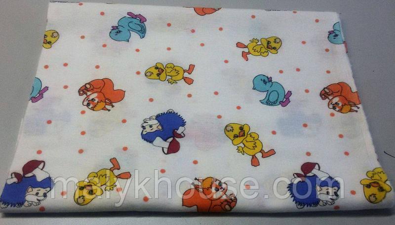 Детское постельное белье для новорожденных (фланель)