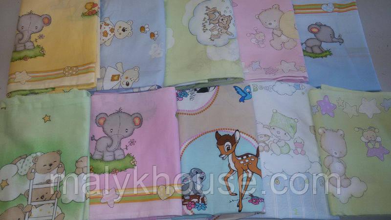 Наволочка на подушку для новонародженого (40х60см)